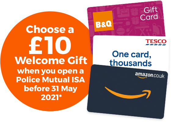 Choose a £10 Welcome Gift*